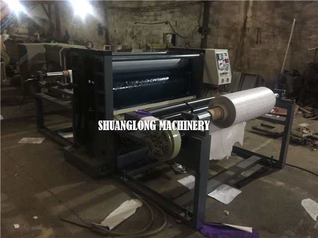 Economic Type Paper Embossing Machine For Wall Paper And Calender Paper