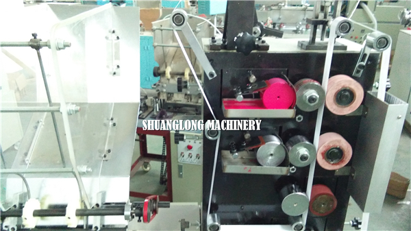 Single Drink Straw Packing Machine With Printing On Line