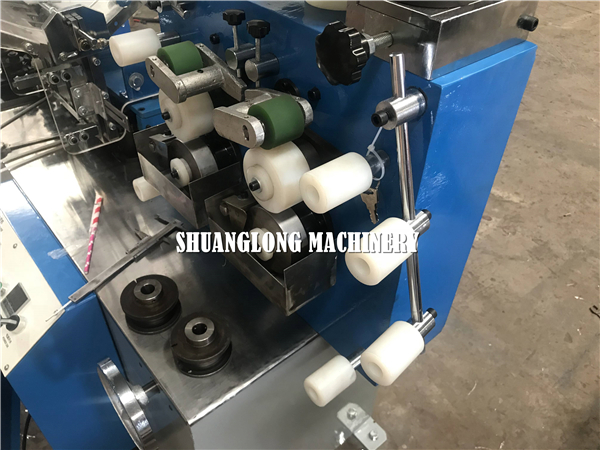 High speed paper drinking straw packing machine with single bag