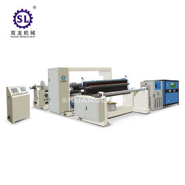 China SLYW-1150 PVC Film Embossing Machine with Oil Heating and Chiller supplier