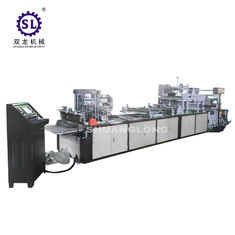 High Speed sealing cutting plastic zipper bag making machine with slider