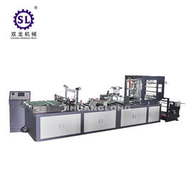 Polythene self closing zip lock bag making machine 8000*2920*1970 mm dimension