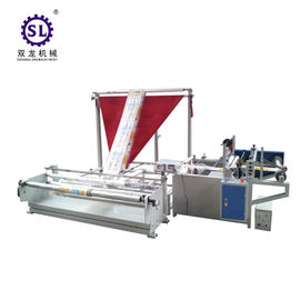 Plastic Film Folding Machine And Rewinding Machine For Side Seal Bag