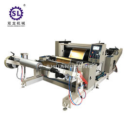 Aluminum Foil Automatic Embossing Machine Roll to Roll Type With PLC Control