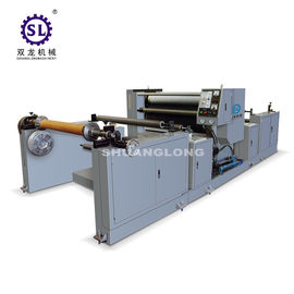China Polyethylene Film Automatic Embossing Machine With Oil Heating SLYW-1350 factory