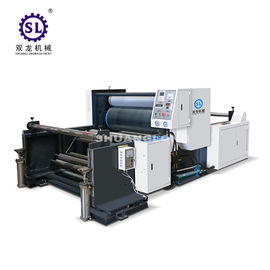 China Ecnomic Type Plastic Film Embossing Machine for Polyethylene LD factory