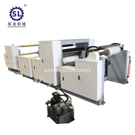 China Plastic Embosser  Industrial Embossing Machine For Vacuum Packing Film factory