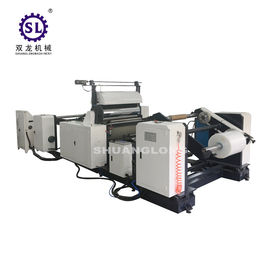 Roll to Roll Plastic Film Embossing Machine for PVC PE and Aluminum Foil