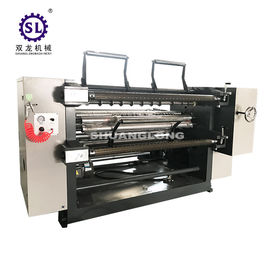 PVC and PET Window Film Slitter with Automatic Tension , Paper Slitting Machine