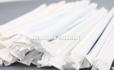 China Automatic Single Drinking Straw Packing Machine Packing / Wrapping for Paper Straw factory