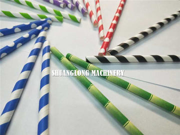 China Five Knives System Online Cutting Paper Straw Machine factory