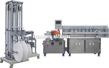 Stainless Steel high speed multi-cutters paper drinking straw making machine