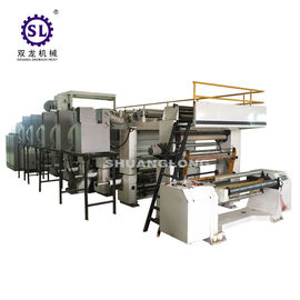China BOPP PVC High Speed Rotogravure Printing Machine 600mm / 800mm Width factory