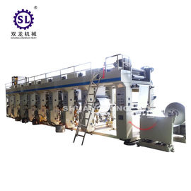 China Roll to Roll Gravure Printing Machine for Decrated Paper SLAY-D factory