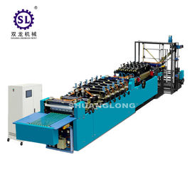 China Stand Up Pouch Bag Making Machine Zipper Type 1 Year Warranty factory