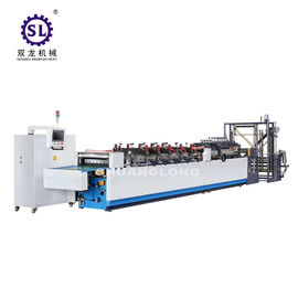 Food automatic paper bag making machine handle puncher device 1000mm unwind width size