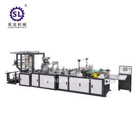 China Full automatic zip lock bag making machine double lines sealing knife and bottom sealing knife factory